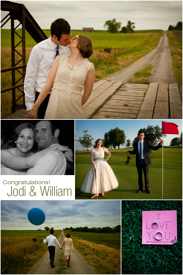 Wedding Photograph Samples from Jodi and William's reception!