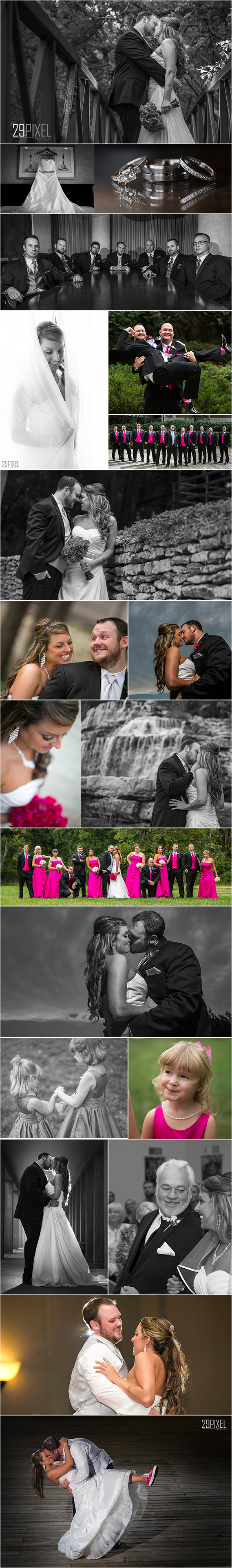 Kansas City Wedding Photographer Nick Schale captures Tina and Jonathan's day!